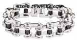 Large Stainless Steel  Biker Chain Bracelet  2 Sizes  SHIPPING - Product Image