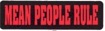 MEAN PEOPLE RULE - Product Image
