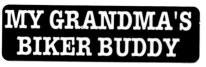 MY GRANDMA'S BIKER BUDDY - Product Image