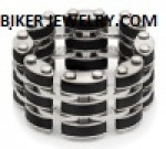 Men's Stainless Steel  Flex Ring  Sizes 9-13  FREE SHIPPING - Product Image