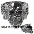 Men's Stainless Steel  Gargoyle Skull Ring  Sizes 9-15  FREE SHIPPING - Product Image