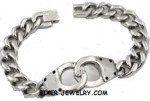 Men's  Handcuff Bracelet  Stainless Steel  FREE SHIPPING - Product Image