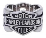 Men's  Harley-Davidson ®  By Mod ®   Stainless Steel  Chain Link  Available in Sizes 9-18  HSR0029 - Product Image