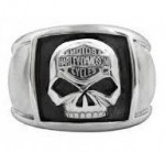 Men's Harley-Davidson ® Stainless Steel  Willie G Skull Ring  Sizes 9-15 - Product Image