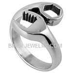 Men's  Stainless Steel  Wrench Ring  Sizes 8-18  FREE SHIPPING - Product Image