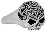 Mod ®  Harley-Davidson®  Ladies Sugar Skull  Willie G Skull Ring  - Product Image