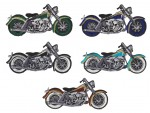 """MotorcycleBiker Patch3 3/4 """" x 2""""FREE SHIPPING - Product Image"""