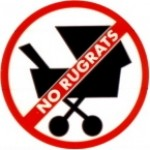 NO RUGRATS (Stroller) - Product Image