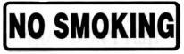 NO SMOKING - Product Image