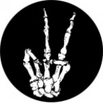 PEACE (SKELETON FINGERS) - Product Image