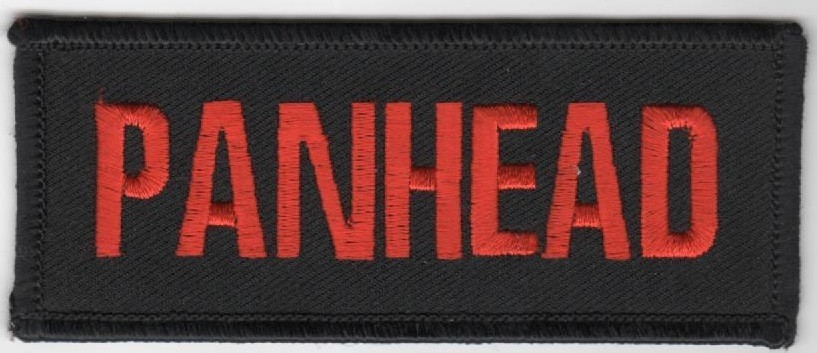 "Panhead Motorcycle Biker Patch1 1/2 "" x 4""FREE SHIPPING - Product Image"