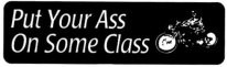 Put Your Ass On Some Class - Product Image