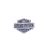 RIDE LOCKET CHARM  Harley-Davidson ®  Mod Jewelry ®  Bar/Shield (silver tone)  Women's Milestone Charm - Product Image
