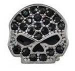 RIDE LOCKET CHARM  Harley-Davidson ®  Mod Jewelry ®  Black Bling Skull  Milestone - Product Image