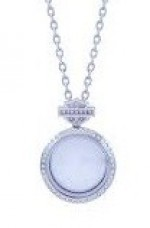 Harley-Davidson®  Mod Jewelry ®  Small Bling Circle  Women's  Ride Locket / Milestone Locket - Product Image