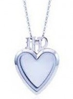 "Harley-Davidson ®  Mod Jewelry ®  Heart Shape ""HD""  Women's  Ride Locket / Milestone Locket - Product Image"