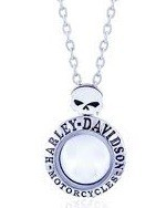 Harley-Davidson ®  Mod Jewelry ®  Willie G. Skull  Women's  Ride Locket / Milestone Locket - Product Image