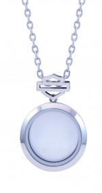 RIDE LOCKET  Harley-Davidson ®  Mod Jewelry ®  Open Logo  Large Circle  Women's Milestone Locket - Product Image