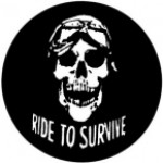 RIDE TO SURVIVE (SKULL) - Product Image