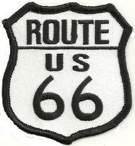 """ROUTE/US66Biker Patch2 1/2 """" x 3""""FREE SHIPPING - Product Image"""