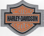ReflectiveHarley-Davidson ®  Logo Harley ®  Patch Available in 2 Sizes FREE SHIPPING - Product Image