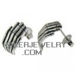 CLOSE OUT  Skeleton Hand Earring  FREE SHIPPING - Product Image