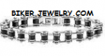 Stainless Steel Biker Chain  Bracelet Small  Sizes  Unisex  FREE SHIPPING - Product Image