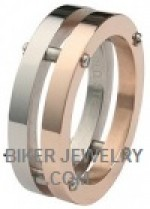Stainless Steel  Copper Precision Ring  Sizes 9-13  FREE SHIPPING - Product Image
