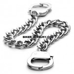 Handcuff Bracelet  Stainless Steel  5 Sizes  FREE SHIPPING - Product Image