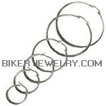CLOSE OUT  HOOPS  Stainless Steel  Earrings  FREE SHIPPING - Product Image