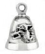 Sterling Silver Mean Wolf Ride Bell ® - Product Image