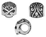Ride Bead  Sterling Silver  Willie G Skull  Harley Davidson ®  by Mod ®  Does fit Pandora  ® - Product Image
