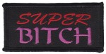 "Super Bitch Biker Patch3 3/4 "" x 1 3/4 ""FREE SHIPPING - Product Image"