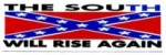 THE SOUTH WILL RISE AGAIN (Confederate Flag) - Product Image