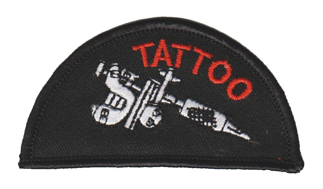 "TattooBiker Patch3 1/4 "" x 1 3/4 ""FREE SHIPPING - Product Image"