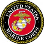 UNITED STATES MARINE CORPS  Motorcycle Sticker - Product Image