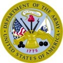 UNITED STATES ARMY  Round Military Sticker - Product Image