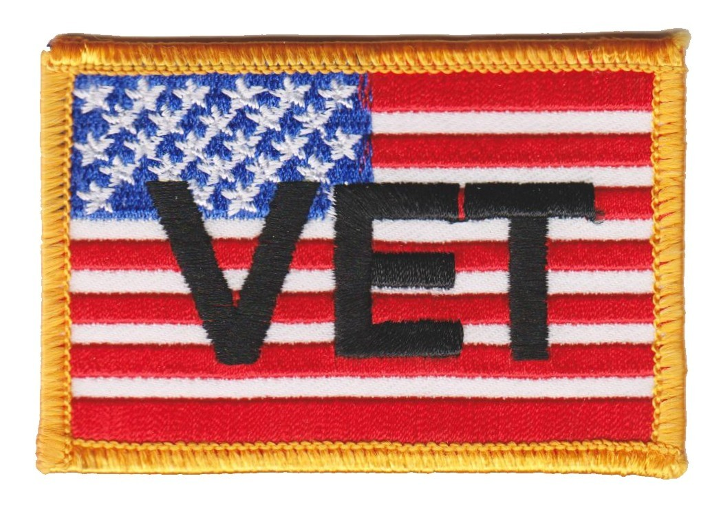 "VET Military Patch3"" x 2""FREE SHIPPING - Product Image"