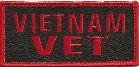 """VIETNAM VETMilitary Patch2"""" x 4""""FREE SHIPPING - Product Image"""