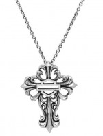 Women's  Harley Davidson ®  Cross Pendant  By Mod  Sterling Silver - Product Image