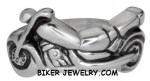 Motorcycle Ring  Stainless Steel  Sizes 5-10  FREE SHIPPING - Product Image
