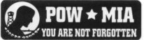 - POW MIA -  YOU ARE NOT FORGOTTEN - Product Image