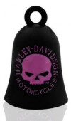 RIDE BELL®  Harley-Davidson ®  Black with a Pink Willie G Skull  FREE SHIPPING HRB060