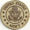 "United States Army  Military Patch  3"" x 3""  FREE SHIPPING"