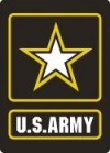 "US ARMY Sticker  3"" x 4""  Military Sticker"