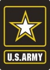 "US ARMY Sticker  3"" x 4""  Military Sticker - Product Image"