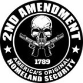 OUT OF STOCK2ND AMENDMENT  1789  AMERICA'S ORIGINAL  HOMELAND SECURITY - Product Image