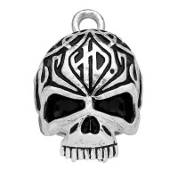 3-D Skull Biker Ride Bell Harley Davidson ® by Mod Jewelry® Tribal DesignHRB092 - Product Image