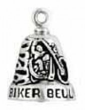 Ride Bell ®  Sterling Silver Biker Bell ® - Product Image