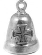 Iron Cross  Sterling Silver  Motorcycle Ride Bell ® - Product Image